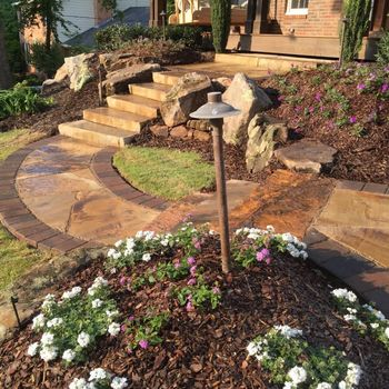 Stone Walkway and Steps in Dunwoody, GA
