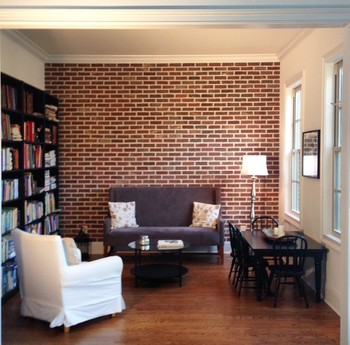 Interior Thin Brick Wall in Milton, GA