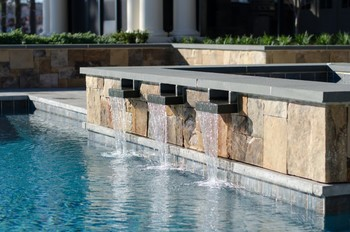 Thermal Finished Bluestone Pool Coping in Cumming, GA