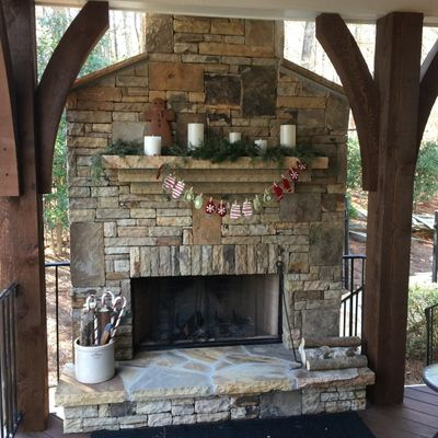 Outdoor Fireplace Milton, GA