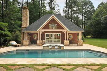 Beautiful Stonework and outdoor living space construction