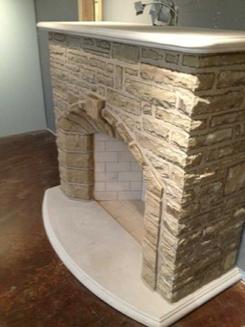 Fireplace in Alpharetta, GA