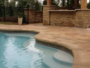 Pool Deck, Pool Coping and Cabana in Duluth, GA