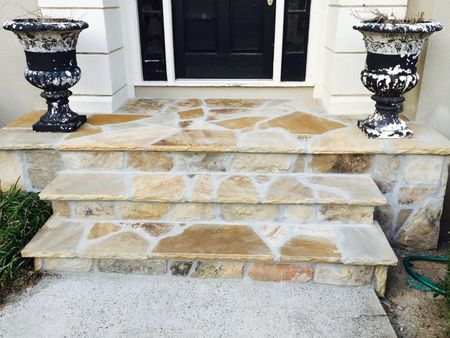 Stone stoop replacement