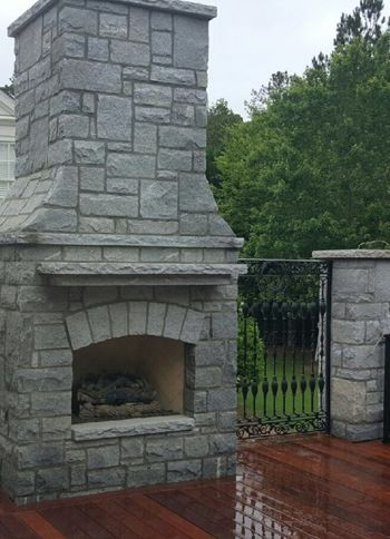 Outdoor Fireplace Alpharetta GA