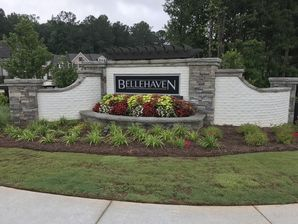 Brick and Stone Subdivision Entrance in Marietta, Ga (1)