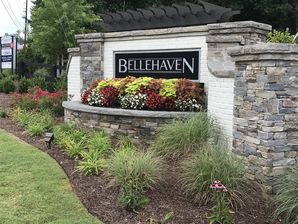 Brick and Stone Subdivision Entrance in Marietta, Ga (2)