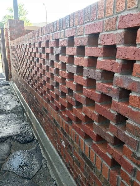 Brick Lattice Wall in Chamblee, GA (1)