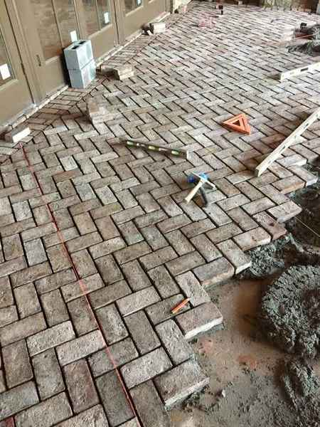 Herringbone Pavers in Suwanee, GA (1)