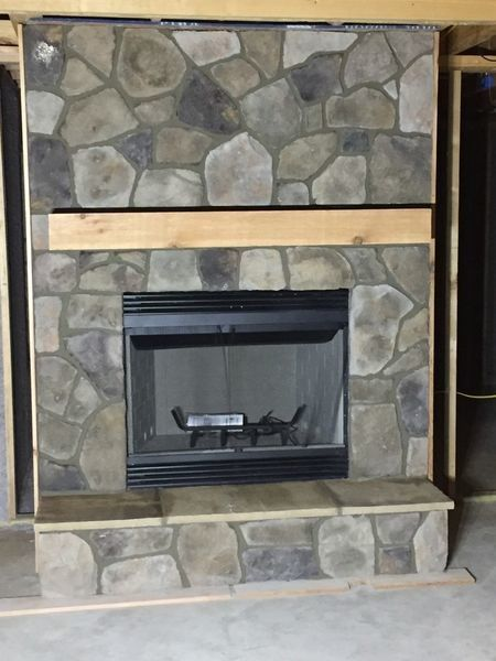 Fireplace with Bucks County Dressed Fieldstone (1)
