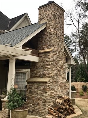 Outdoor Stone Fireplace Alpharetta, GA (2)