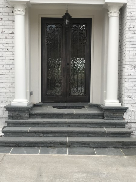 Bluestone Step Installation in Johns Creek, GA (1)