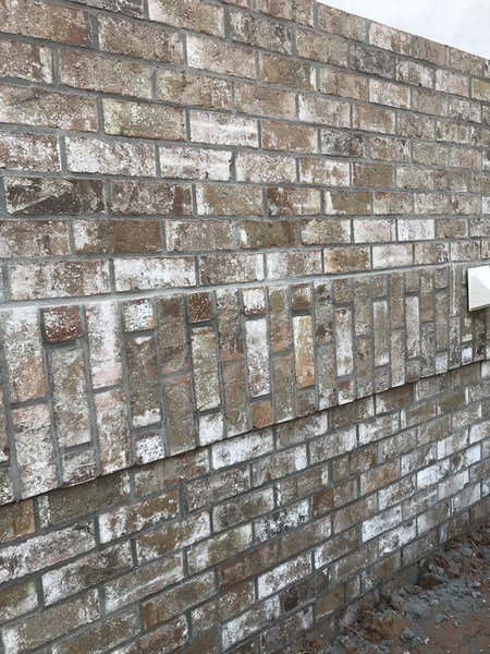 Alternating Brick Solider Banding Installation in Alpharetta, GA (1)