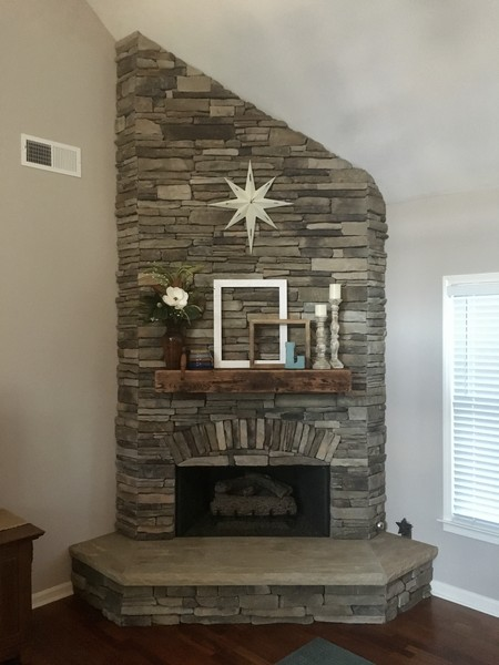 Interior Fireplace in Suwanee, GA (1)