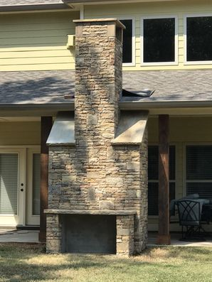 Outdoor Fireplace in Loganville, GA (2)